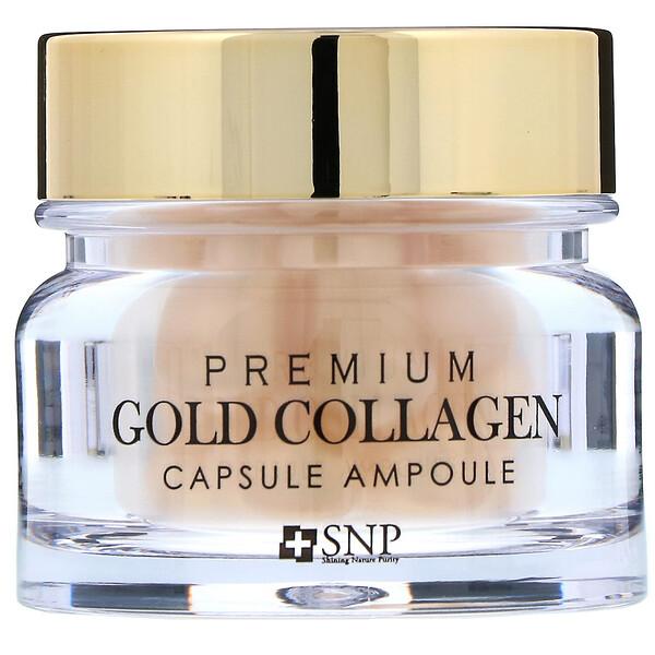 Ampolla con oro y colágeno premium en cápsulas, 30 cápsulas