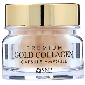 СНП, Premium Gold Collagen Capsule Ampoule, 30 Capsules отзывы покупателей