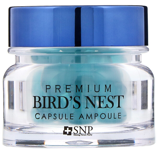 Premium Bird's Nest Capsule Ampoule, 30 Capsules