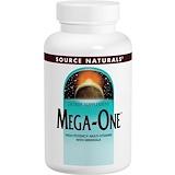 Отзывы о Source Naturals, Mega-One, Высокоэффективные мультивитамины и минералы, 60 таблеток