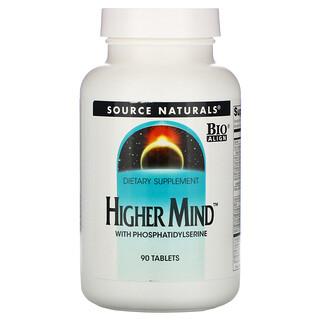 Source Naturals, Higher Mind, 90 Tablets