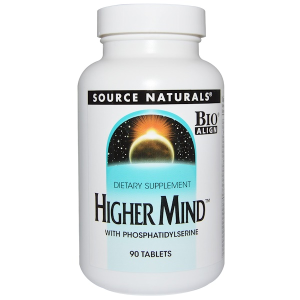 Source Naturals, Higher Mind, 90 Tablets