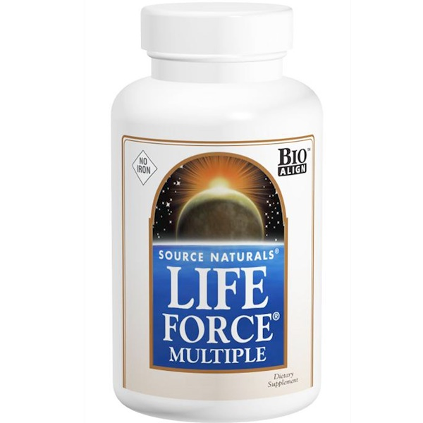 Life Force Multiple, No Iron, 180 Tablets