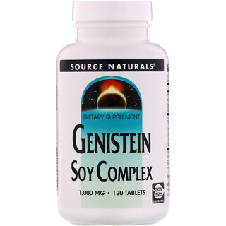 Source Naturals, Genistein Soy Complex, 1,000 mg, 120 Tablets