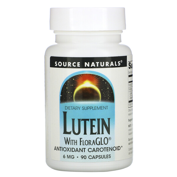 Lutein, 6 mg, 90 Capsules