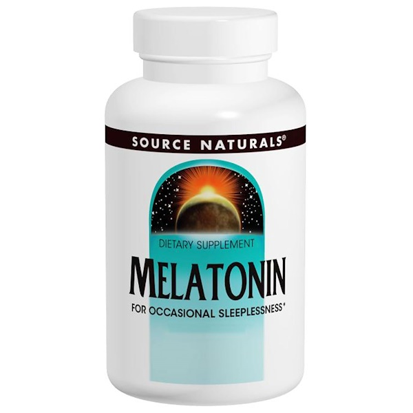 Source Naturals, Melatonin, Timed Release, 3 mg, 240 Tablets