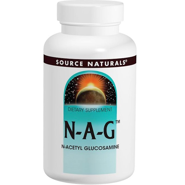 Source Naturals, N-A-G, 250 mg, 120 Tablets (Discontinued Item)