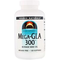 Мега-ГЛК 300, 120 гелевых капсул - фото