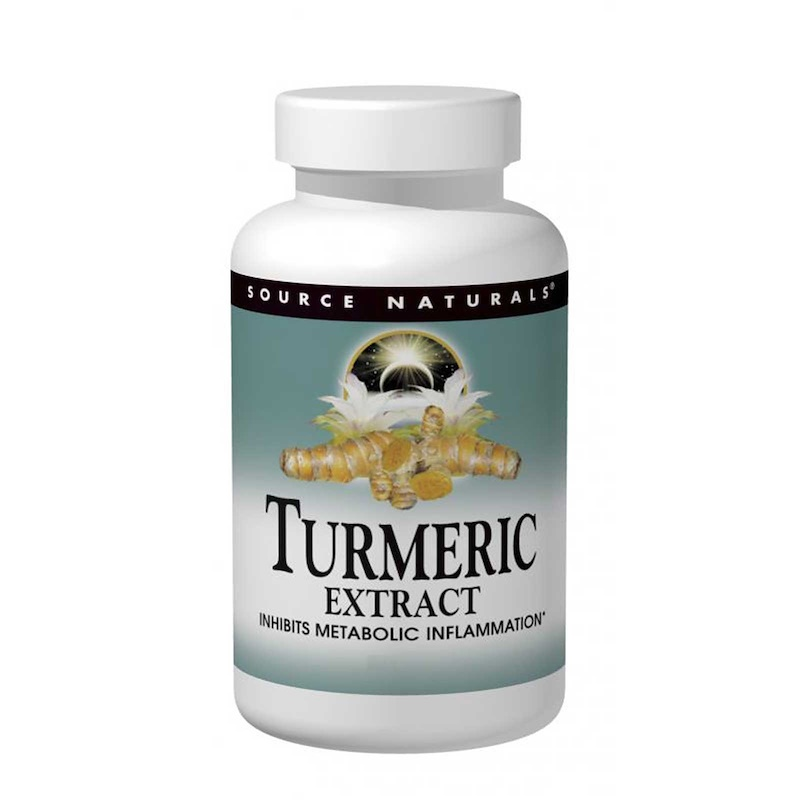 Turmeric Extract, 100 Tablets