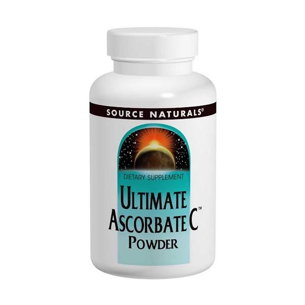 Source Naturals, Ultimate Ascorbate C Powder, 16 oz (453.6 g) (Discontinued Item)