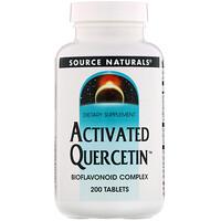 Активированный кверцетин, 200 таблеток - фото