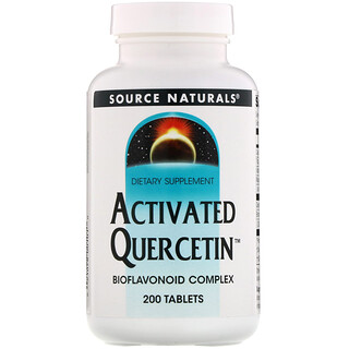 Source Naturals, Activated Quercetin, 200 Tablets