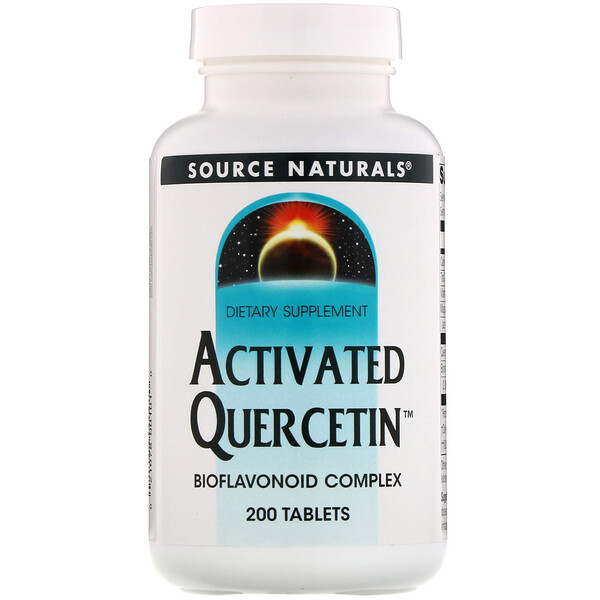 Source Naturals, Aktiviertes Quercetin, 200 Tabletten