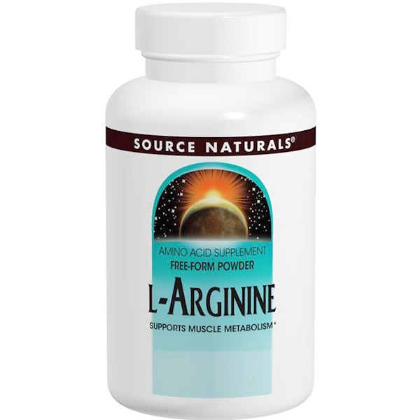 Source Naturals, L-Arginine, 3.53 oz (100 g) (Discontinued Item)