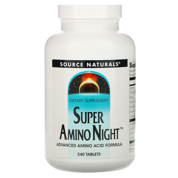 Super Amino Night, 240 Tablets