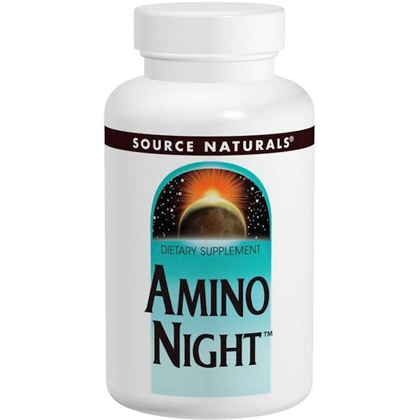 Source Naturals, Amino Night, 120 Capsules (Discontinued Item)