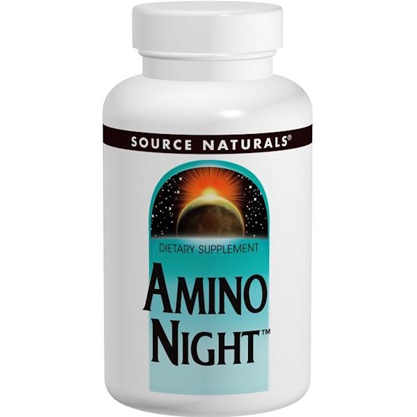 Source Naturals, Amino Night, 120 Tablets (Discontinued Item)