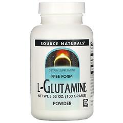 Source Naturals, L-穀氨醯胺粉,3.53 盎司(100 克)