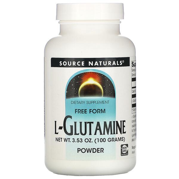 L-Glutamine Powder, 3.53 oz (100 g)