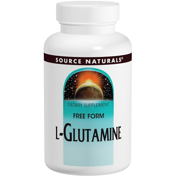 L-Glutamine, 500 mg, 100 Tablets
