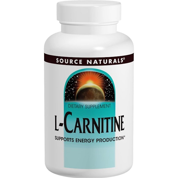 Source Naturals, L-Carnitine, 250 mg, 60 Capsules (Discontinued Item)