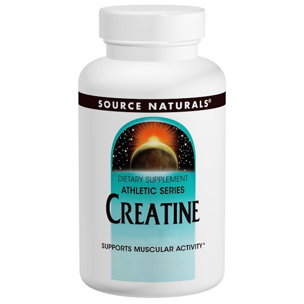 Source Naturals, Creatine, 1,000 mg, 100 Tablets (Discontinued Item)