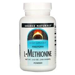 Source Naturals, L-蛋氨酸,3.53 盎司(100 克)