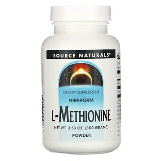 Source Naturals, L-Methionine, 3.53 oz (100 g)