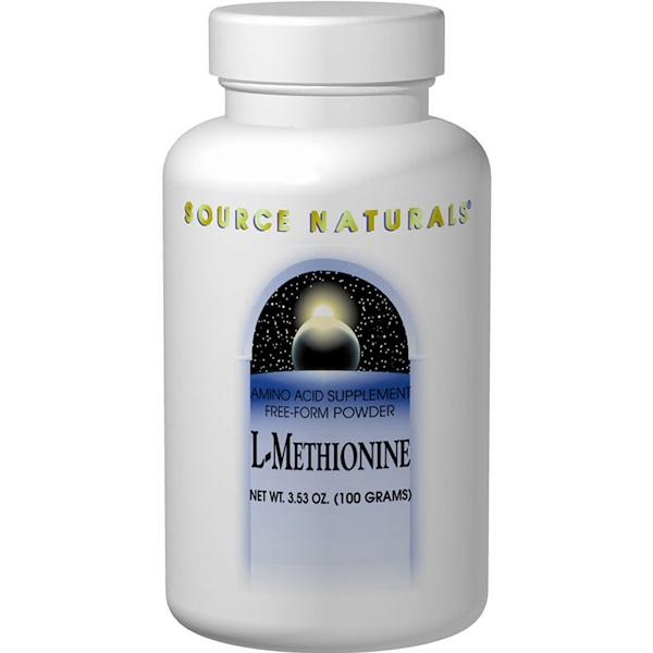 Source Naturals, L-Methionine, 3.53 oz (100 g)