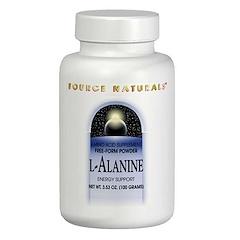 Source Naturals, L-丙氨酸,3.53盎司(100克)