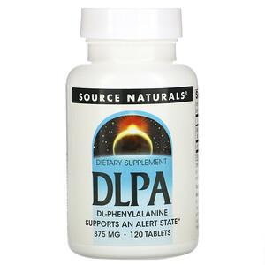 Сорс Начэралс, DLPA, 375 mg, 120 Tablets отзывы покупателей