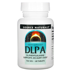 Source Naturals, DL-苯丙氨酸,750 毫克,60 片