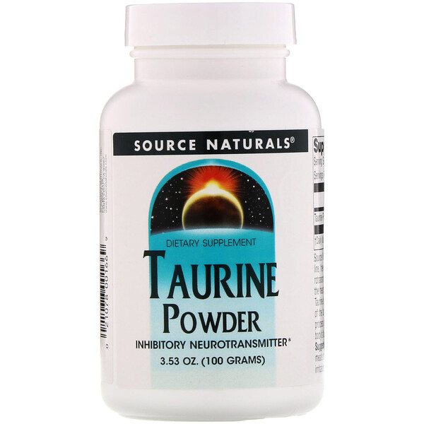 Taurine Powder, 3.53 oz (100 g)