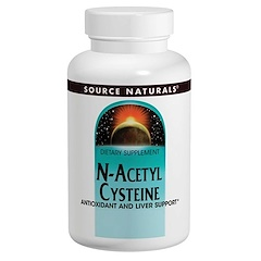 Source Naturals, N-Acetyl Cysteine, 1000 mg, 120 Tablets