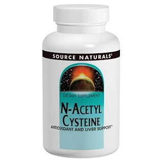 Source Naturals, N-Acetylcystein, 1000 mg, 120 Tabletten