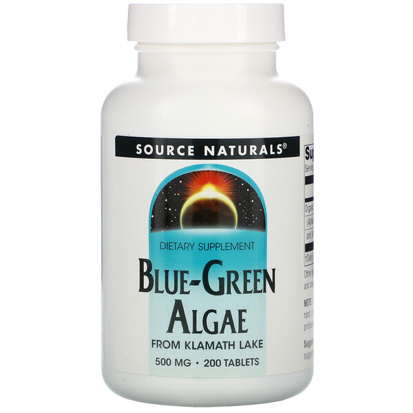 Blue-Green Algae, 200 Tablets
