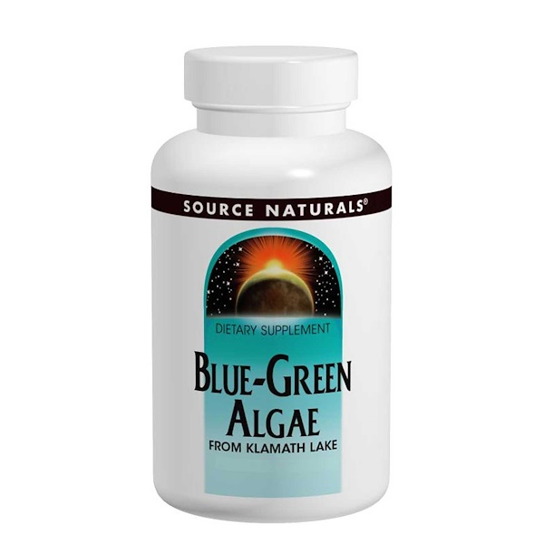 Source Naturals, Blue-Green Algae, 200 Tablets