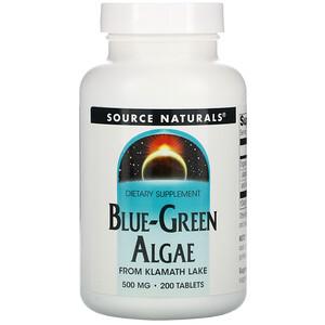 Сорс Начэралс, Blue-Green Algae, 200 Tablets отзывы покупателей