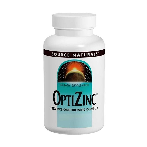 Source Naturals, OptiZinc, 240 pastillas
