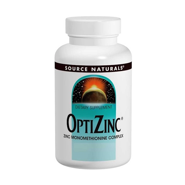 Source Naturals, OptiZinc, 240 Tablets