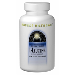 Сорс Начэралс, L-Leucine, 3.53 oz (100 g) отзывы