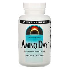 Source Naturals, Amino Day,1,000毫克,120片
