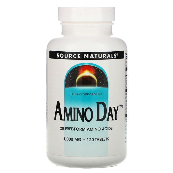 Amino Day, 1,000 mg, 120 Tablets