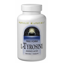 Source Naturals, L-Tyrosine, 500 mg, 100 Tablets