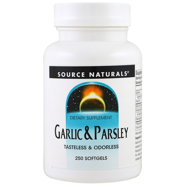 Garlic & Parsley, 250 Softgels