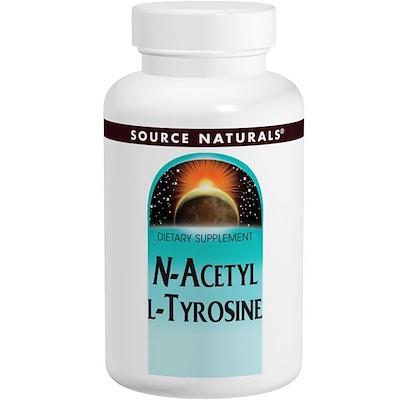 N-ацетил L-тирозин, 300 мг, 120 таблеток n a c n ацетил l цистеин 500 мг 100 вегетерианских капсул
