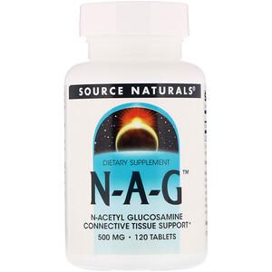 Сорс Начэралс, N-A-G, 500 mg, 120 Tablets отзывы