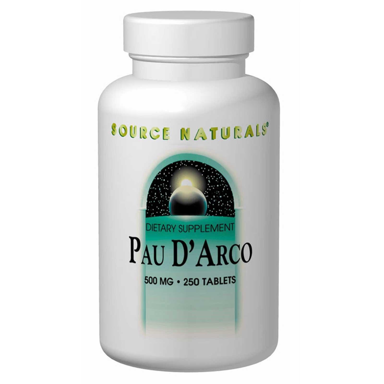 Source Naturals, По д'Арко, 500 мг 250 таблеток
