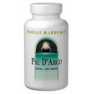 Source Naturals, Lapacho, 500 mg, 250 comprimidos