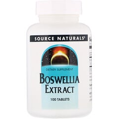 Source Naturals, Boswellia Extract, 100 Tablets